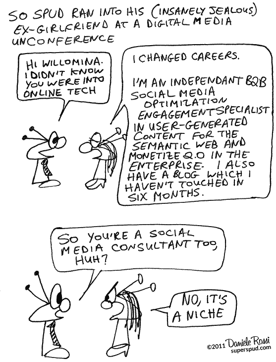 Job descriptions in the social media industry